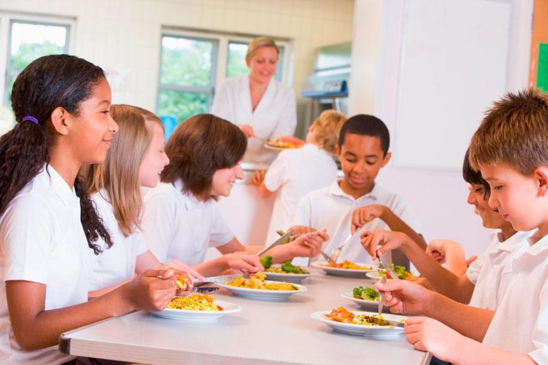 La evolución de los comedores escolares - Menaje Colectividades